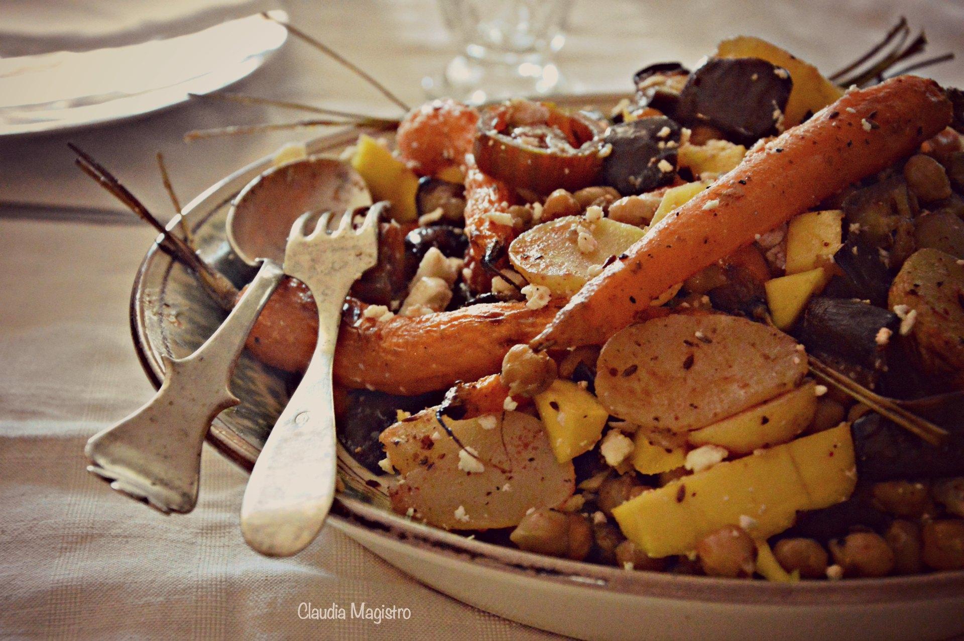 verdure tavola