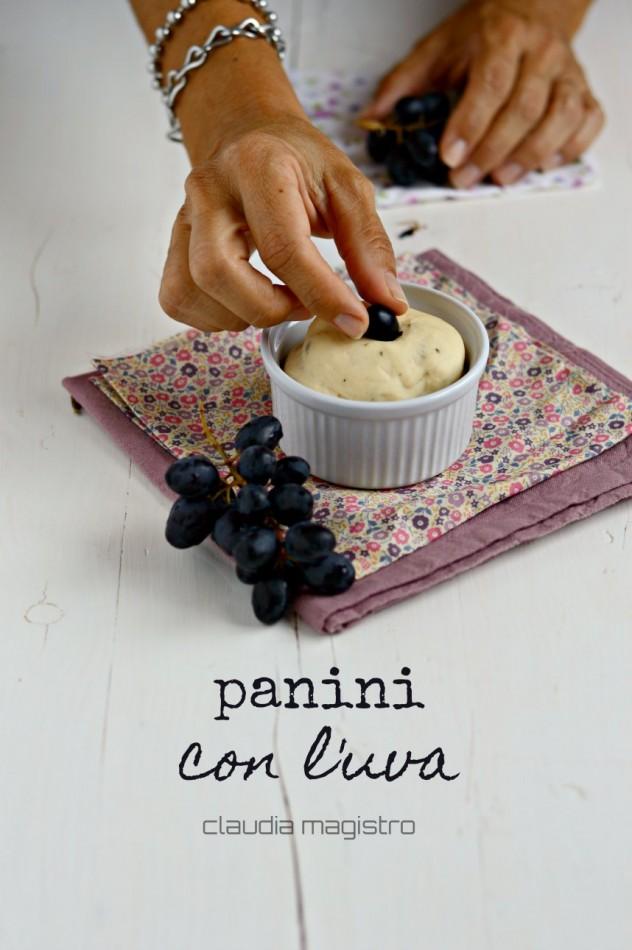 panini con l'uva _