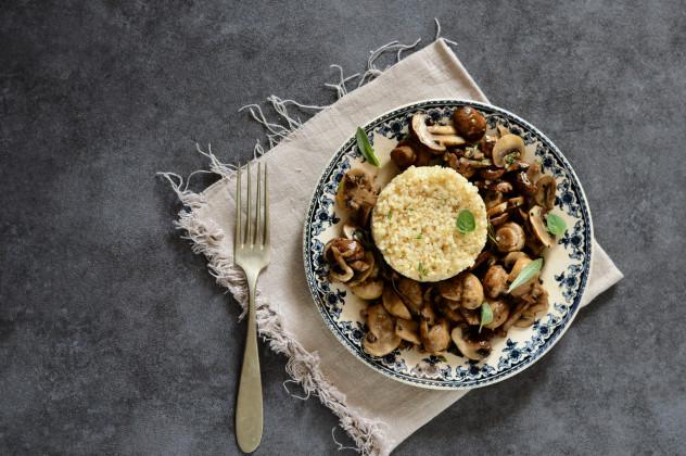 funghi al forno con bulgur e quinoa_00000