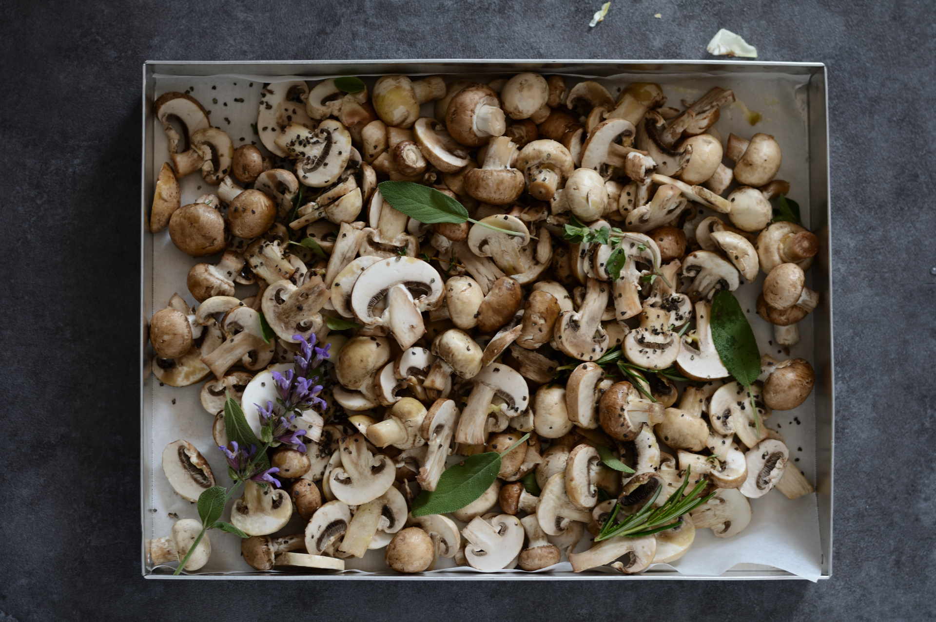 funghi al forno con bulgur e quinoa_00001